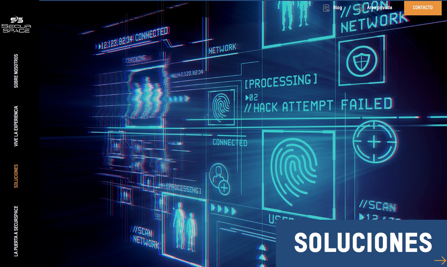 Las visitas a Securspace se podrán concertar vía web