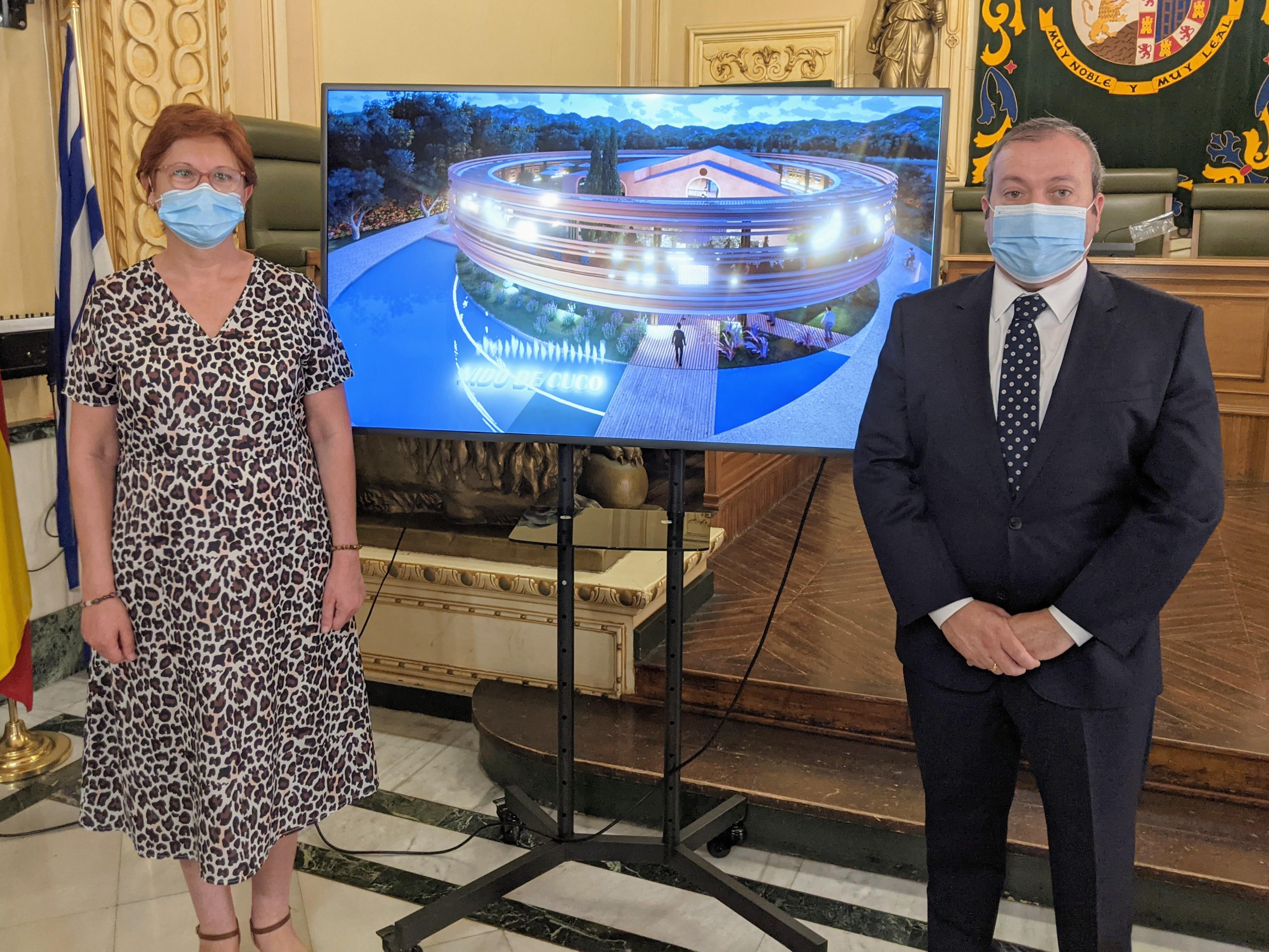 Juana Guardiola y Raúl Colucho-Presentación Nido de Cuco